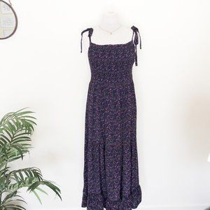 Free People Smocked Tiered Maxi Dress